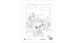 Leapfrog Scout Coloring Pages Property Printables For Two Year Olds