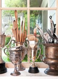 trophies for storing kitchen utensils