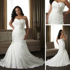 dress love picture more detailed picture about fk026 silver Wedding Gown Xxl fk026 silver satin fishtail plus size wedding dress patterns xxl size 2013 wedding gown labels