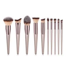 GUJHUI 1 PC PVC <b>Champagne Brush Cosmetic Makeup</b> Kit Eye ...