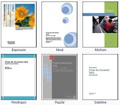 Microsoft Office Word Cover Page Templates 16 Microsoft Cover Page Designs Images Microsoft Word
