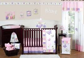 pink whale crib bedding sweet designs erfly collection piece set purple