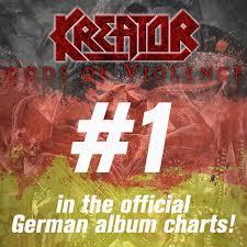 Kreator Enter German Album Charts On 1 Nuclear Blast