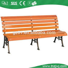 stainless steel frame wood composite outdoor rectangular park benches with steel frame park benches with steel frame suppliers