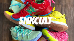 REVIEW BOB ESPONJA X KYRIE IRVING // SNKCULT X ARTWALK - YouTube