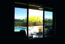 sliding glass door tint best way to blackout windows window rated replacement sliding glass door