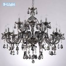 4color cognac smoke black top luxury 105 15 arms large crystal with regard to amazing house grey crystal chandelier decor
