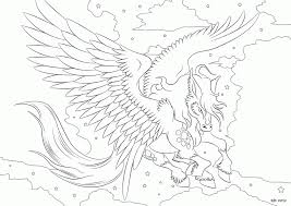 Pegasus Coloring Page Coloring Pages For Kids And For Adults