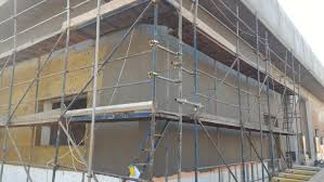Finishing Works Roof Decking Wall Cladding Gypsum Plastering - Plastering exterior walls
