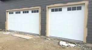 vinyl garage door trim garage door trim ideas great chamberlain vinyl hardware interior excellent garage door