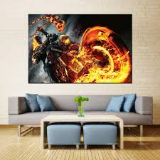 Forbeauty Canvas Painting Wall Art <b>ghost rider</b> spirit of vengeance 2 ...