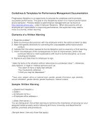 How To Write A Warning Letter To An Employee Performance Warning Letter To Employee Templates At