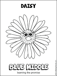 daisy lupe coloring page daisy girl scout blue promise center coloring page lupe daisy petal coloring