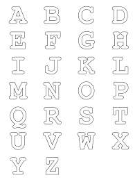 Small Picture Alphabets Get Coloring Pages