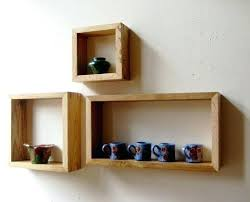 box shelves wall mounted diy square decorating interior of your house o kids room winning rustic