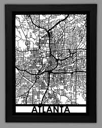 wall art ideas design high display atlanta wall art from framed maps density using unique street plywood foam laser cutting technology best atlanta wall