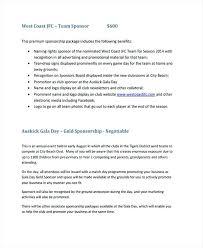 Microsoft Proposal Templates Inspiration Sponsorship Offer Template Vultagearco