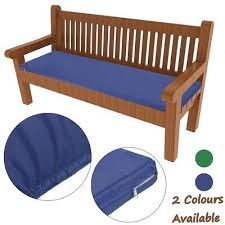 waterproof outdoor 2 seater bench swing seat cushion only garden furniture pad
