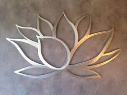 lotus metal wall art on lotus leaf wall art with lotus metal wall art at rs 5500 piece metal wall art id