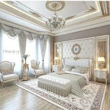 Luxury White Bedroom Furniture Image Of White Master Bedroom for ...