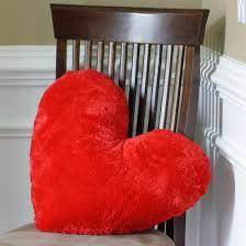 pillow heart. free valentine\u0027s heart pillow sewing pattern | diy crush