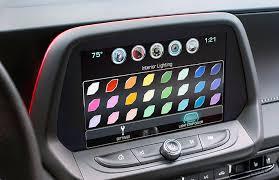 chevrolet camaro 2016 interior. interior spectrum lighting chevrolet camaro 2016