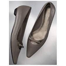 Vera Wang Size Chart Kohl S Simply Vera Vera Wang Leather Flambe Flat Shoes Ash Size 7