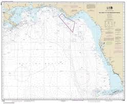 11006 Gulf Coast Key West Fl To The Mississippi River Nautical Chart
