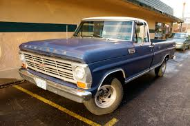OLD PARKED CARS.: Revisited: 1968 Mercury 100 Ranger Pickup.