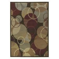 rug with circles design about this item dark red contemporary circles design area rug modern home decor x