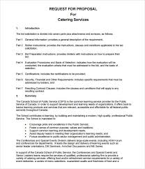 Catering Proposal Letter Inspiration 44 Catering Proposal Samples Sample Templates