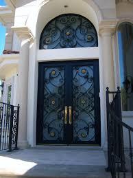 Lion Iron Work Inc Custom Entry Doors - Iron exterior door