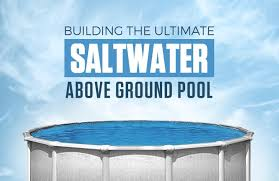 salt water pool above ground. Simple Above In Salt Water Pool Above Ground W