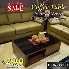 qoo10 lorenzo coffee table made of