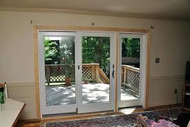3 panel glass door patio door 3 panel patio door 3 panel sliding glass door with