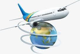 Image result for самолет над глобусом
