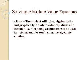 solving absolute value equations n