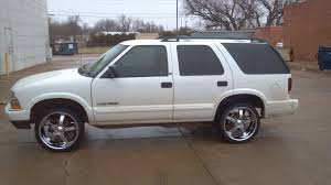Blazer chevy blazer 2011 : Kimmel Gatson's 2002 Chevrolet Blazer with 4 20