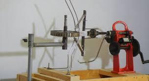 how to make ceiling fan winding machine home made winding machine