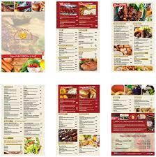 Menu Designs Restaurant Menu Design Bradenton Parrish And Tampa