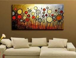 >huge modern wall decor abstract large art oil painting on canvas  huge modern wall decor abstract large art oil painting on canvas artwork 24x48 quot framed