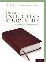 The New Inductive Study Bible Esv Burgundy Amazon Co Uk