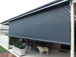 home depot faux wood blinds. Home Depot Outdoor Blinds Exterior Faux Wood Roll Up Grey Shades For Roller