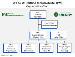 Organization Chart For The Office Of Project Management