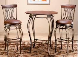 white bar table sets