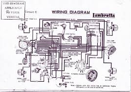 sil wiring for australian gp's lambretta history in australia lambretta wiring loom diagram at Lambretta Wiring Diagram