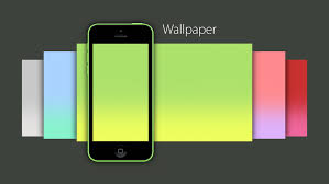 iPhone 5C Yellow Wallpaper ...