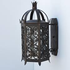 spanish style exterior light fixtures