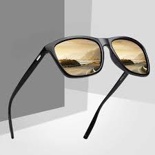<b>CURTAIN Gafas de Sol</b> Hombre Sunglasses Men Unisex Big Frame ...