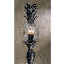 tropical outdoor lighting. Pineapple Light Fixture Lighting New 4 Tropical Outdoor Post Lamp Bronze R